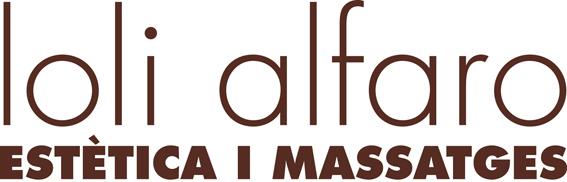logo Loli Alfaro Estètica i Massatges