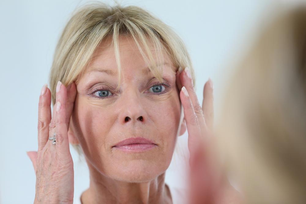 envejecimiento del rostro